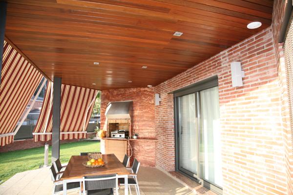 techos de madera tarima en madera de ipe para techos