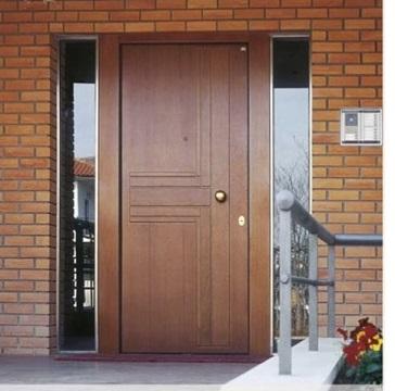 Puertas madera blindadas sanc s puertas y parquet for Puerta blindada casa
