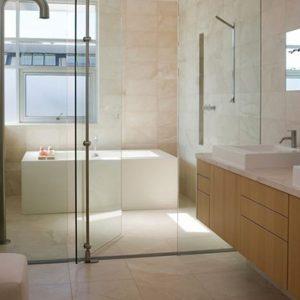 puerta baño cristal