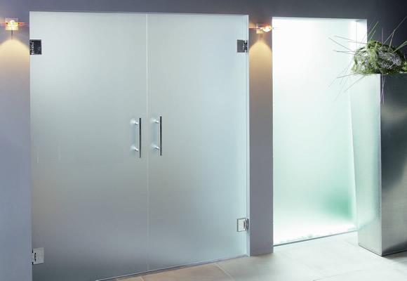 puertas cristal