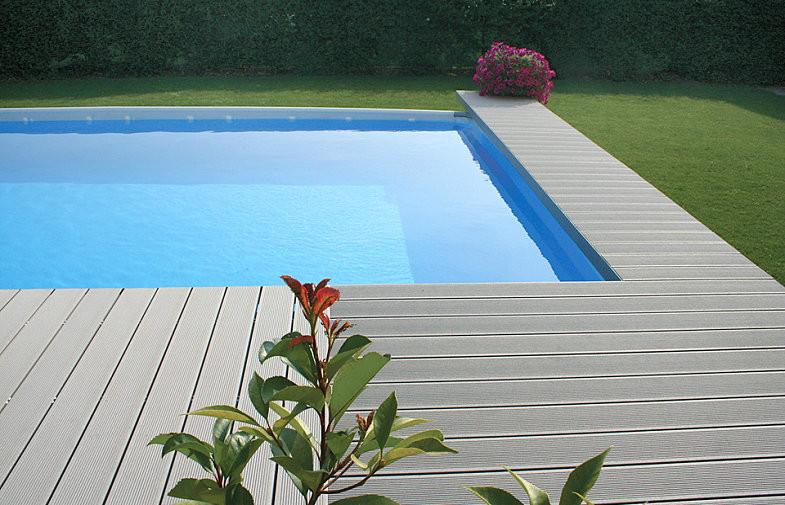 Tarima piscina pvc sanc s puertas y parquet for Tarima piscina